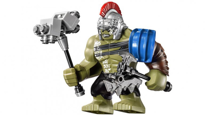 Thor: Ragnarok, una foto di Thor dal set LEGO