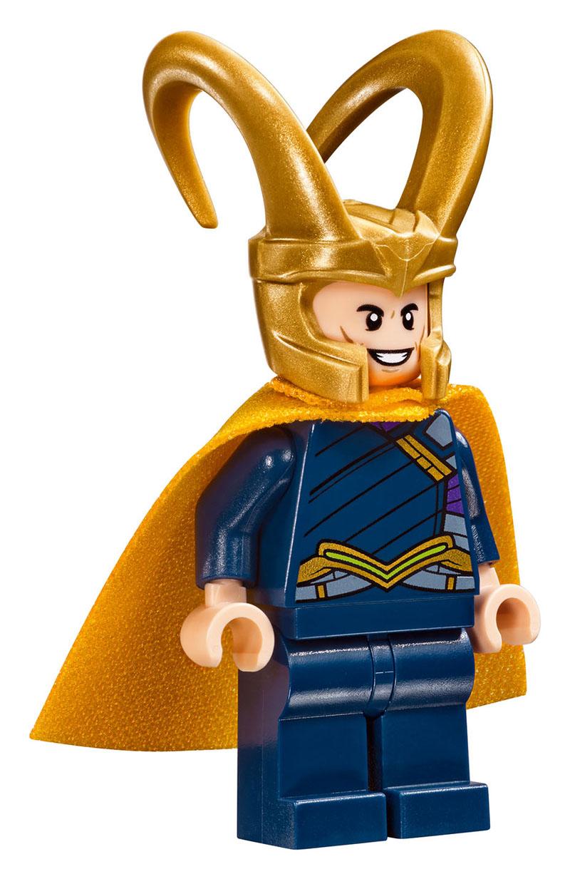 Thor: Ragnarok, una foto di Loki dal set LEGO