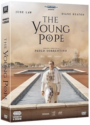 La cover del DVD di The Young Pope