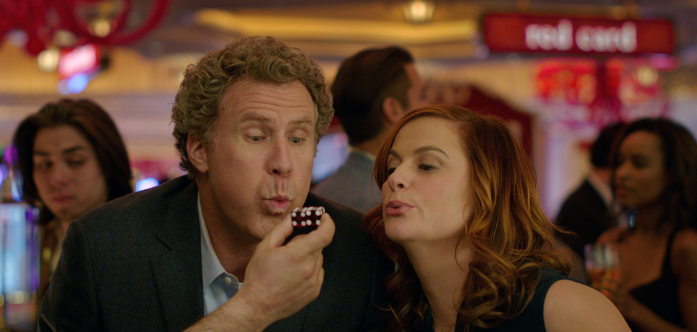 Casa Casinò: Will Ferrell e Amy Poehler in una scena del film