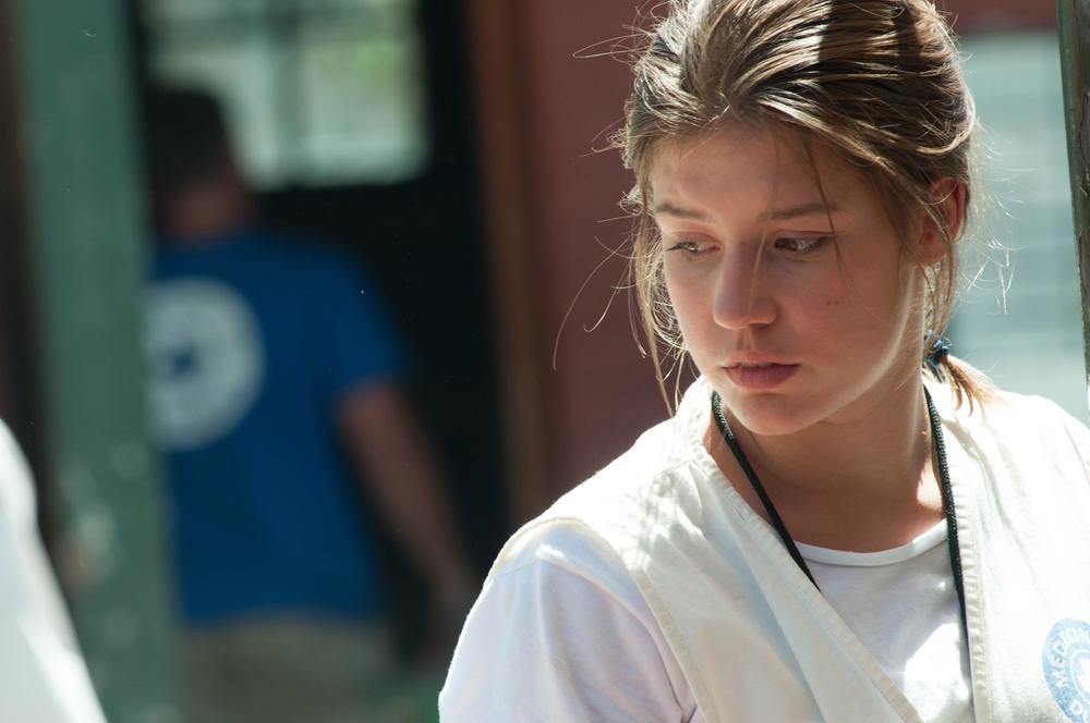 Il tuo ultimo sguardo: Adèle Exarchopoulos in una scena del film