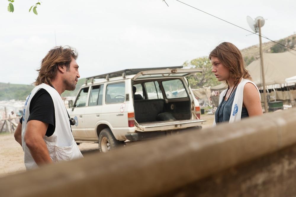 Il tuo ultimo sguardo: Adèle Exarchopoulos e Javier Bardem in una scena del film