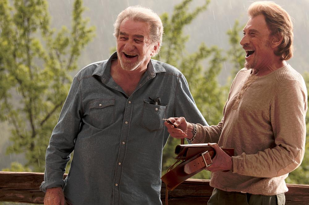 Parliamo delle mie donne: Johnny Hallyday ed Eddy Mitchell in un momento del film