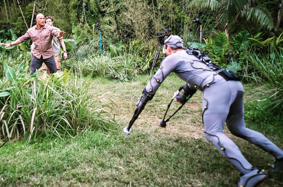 Rampage: una foto dal set