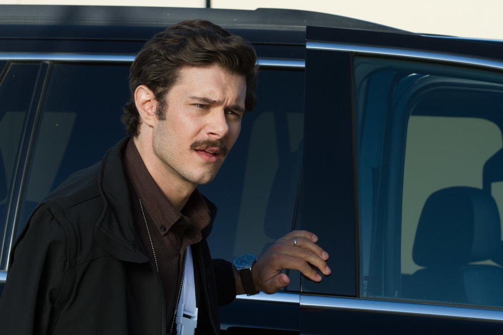 CHiPs: Adam Brody in una scena del film