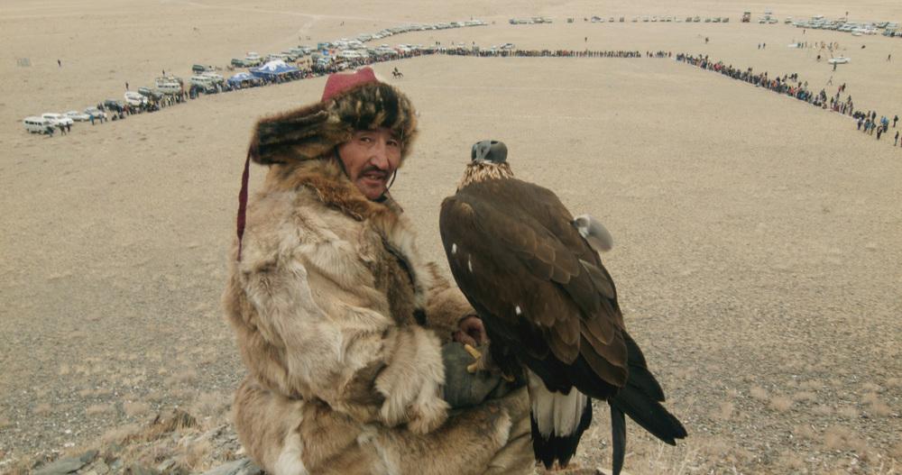 La principessa e l'aquila: Nurgaiv Rys in una scena del documentario