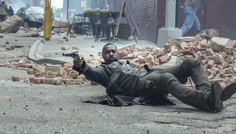 La Torre Nera: Idris Elba in un'immagine tratta dal film