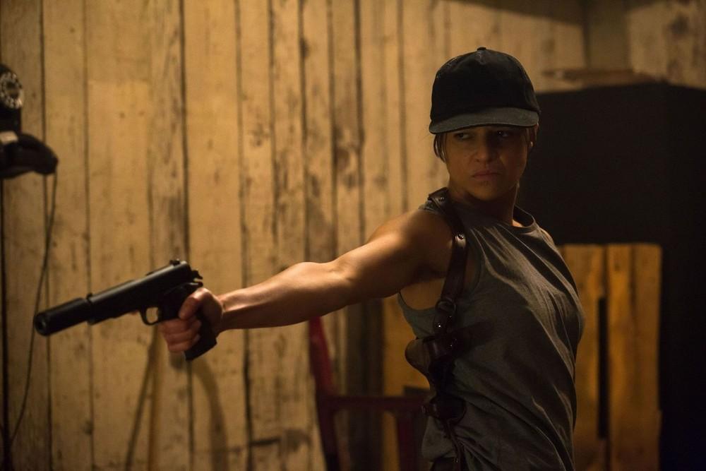 Revenger: Michelle Rodriguez in un momento del film