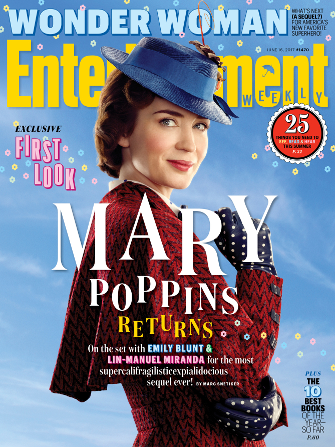 Mary Poppins Returns: la copertina di Entertainment Weekly