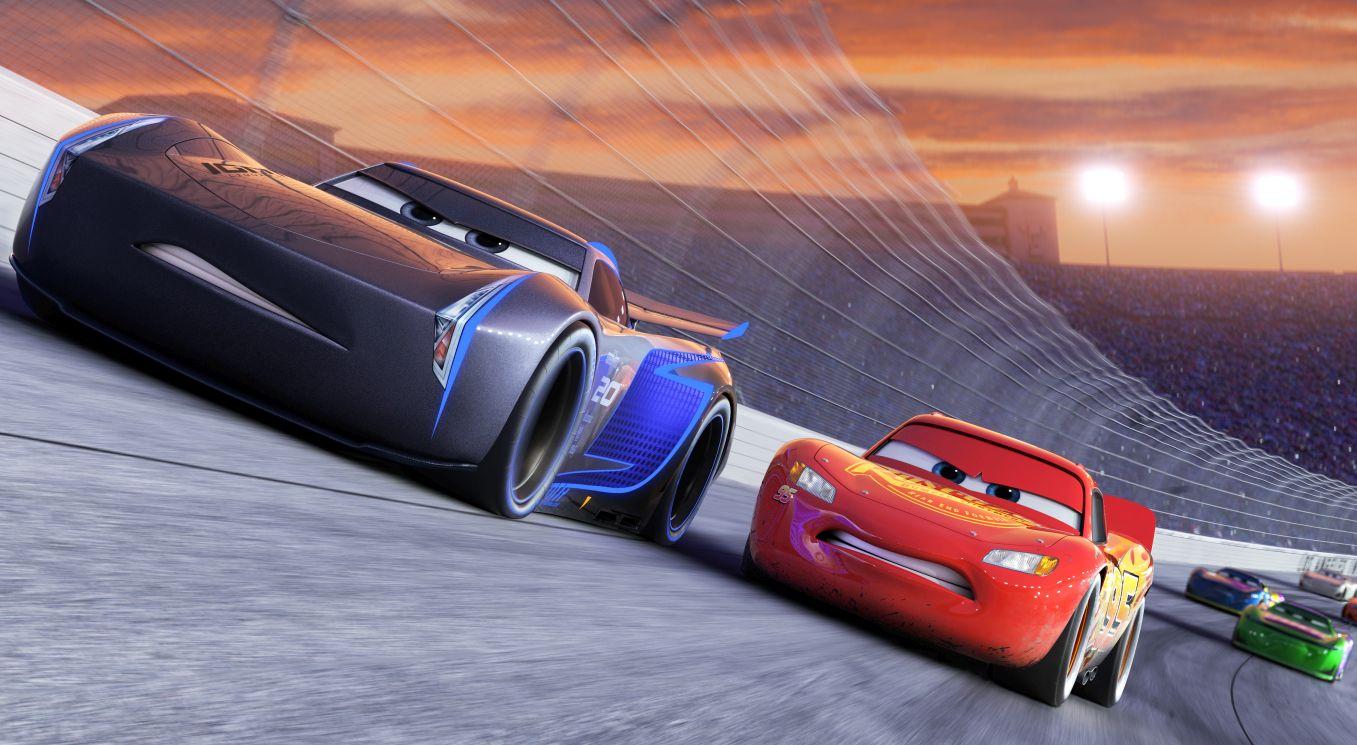 Cars 3: una scena del film d'animazione