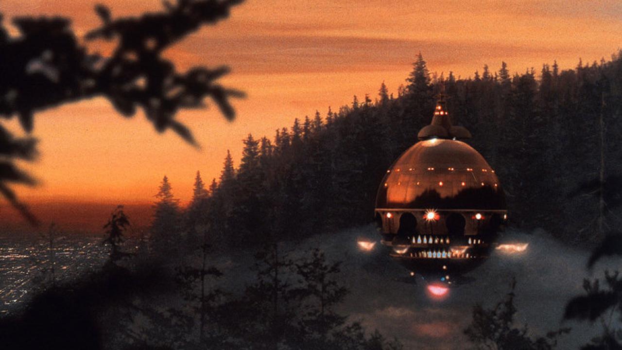 E.T. L'extraterrestre: L'astronave degli alieni