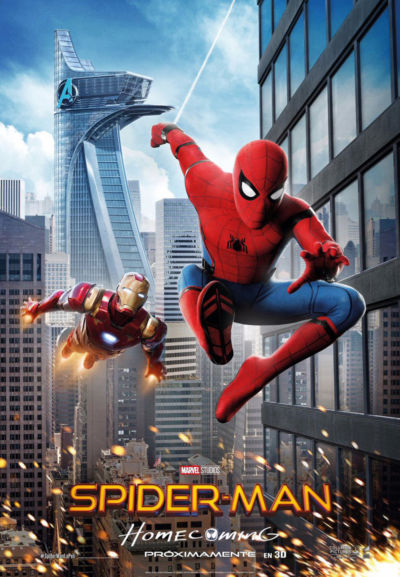 Spider-Man: Homecoming, un poster del film
