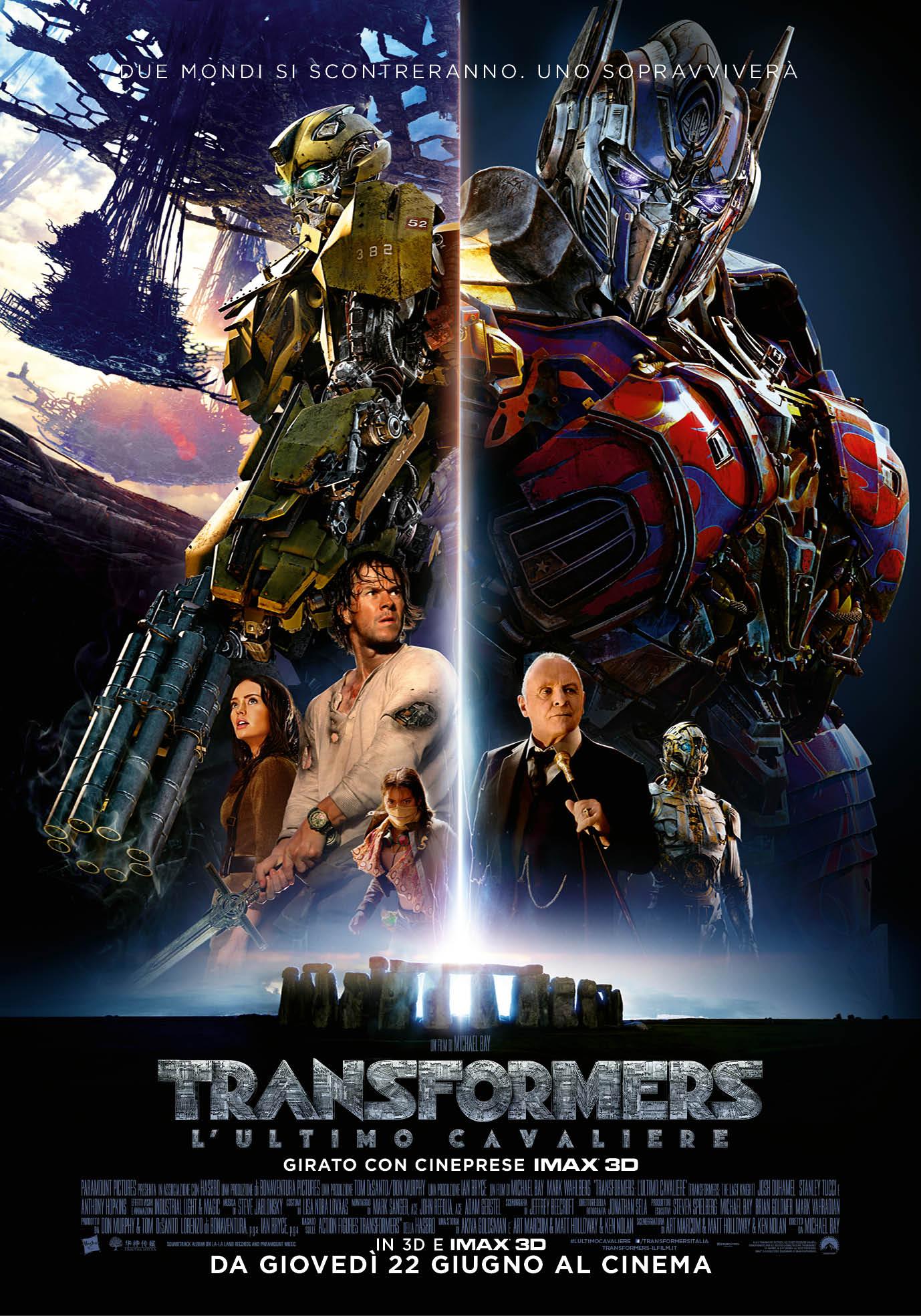 Transformers: L'ultimo cavaliere, un nuovo poster del film