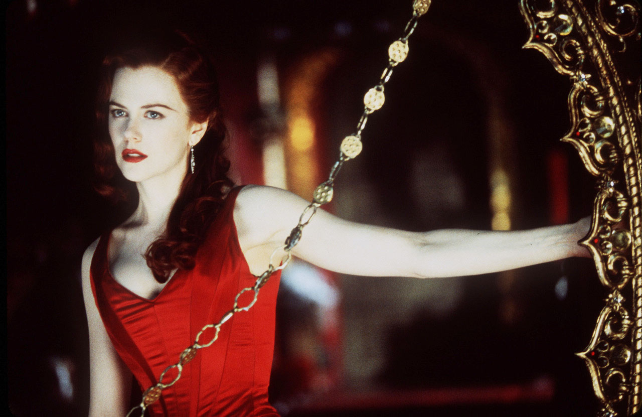 Moulin Rouge: Nicole Kidman in una scena del film