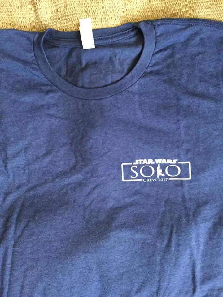 Han Solo: la maglietta della crew