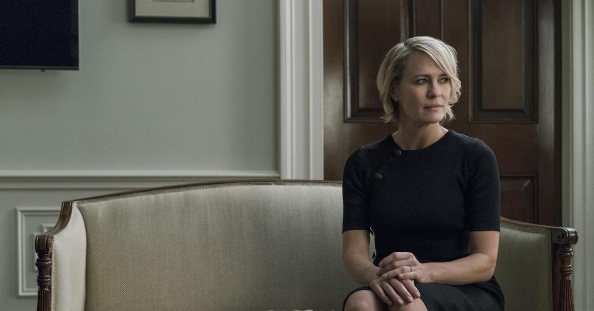 House of Cards 5: Robin Wright in un'immagine tratta dalla serie tv