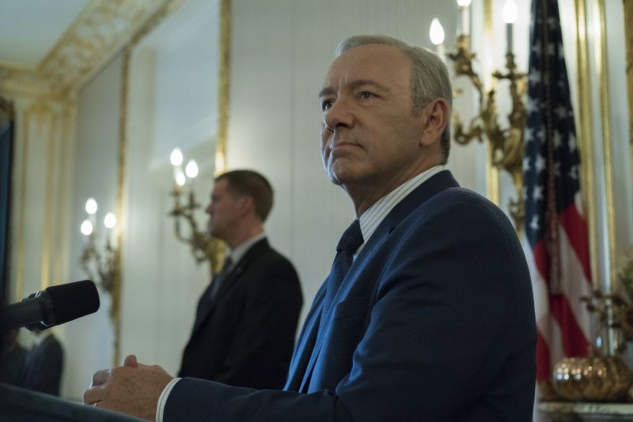 House of Cards 5: Kevin Spacey in un'immagine della serie tv