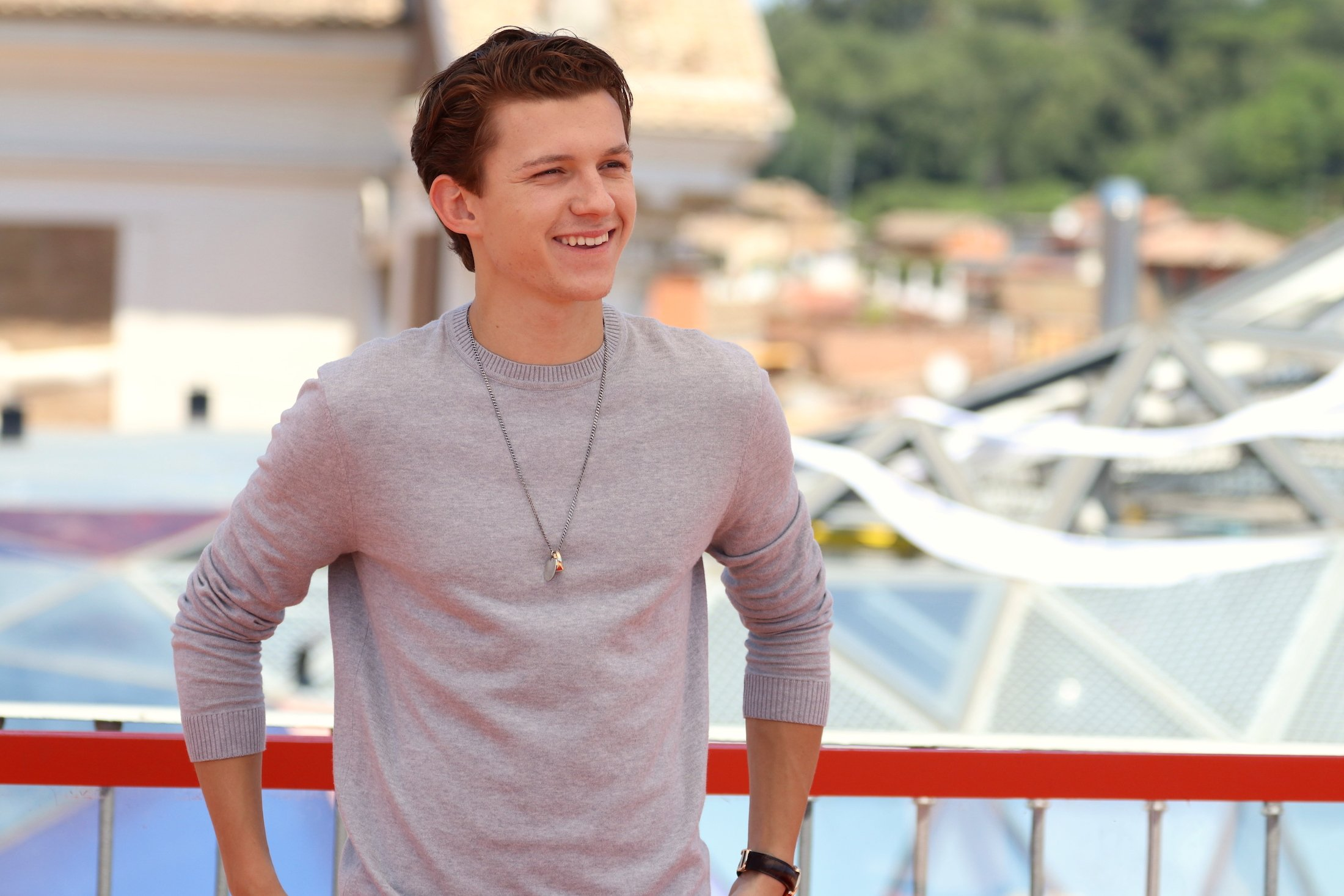 Spider-Man: Homecoming: Tom Holland al photocall