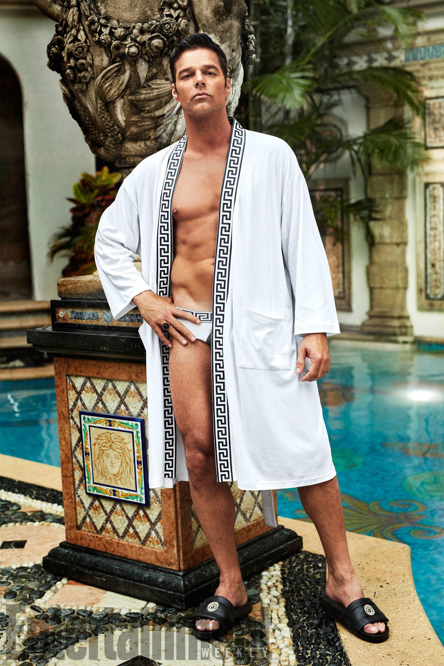 American Crime Story: Ricky Martin in una foto promozionale
