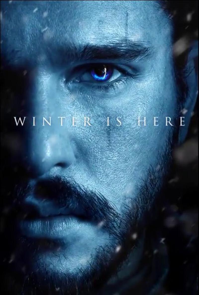 Il Trono di Spade: il character poster di Jon Snow