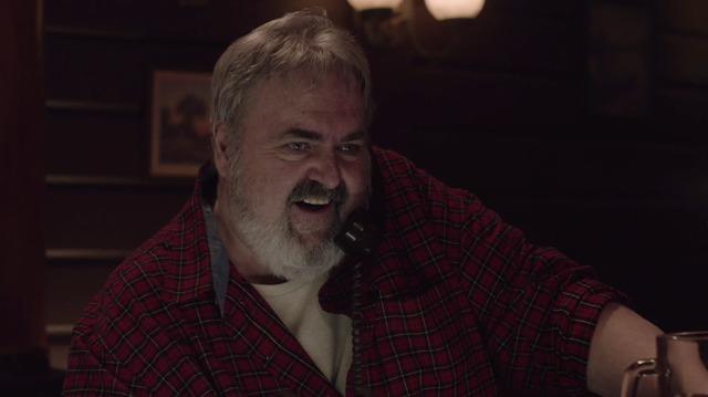 I segreti di Twin Peaks: Walter Olkewicz in una scena