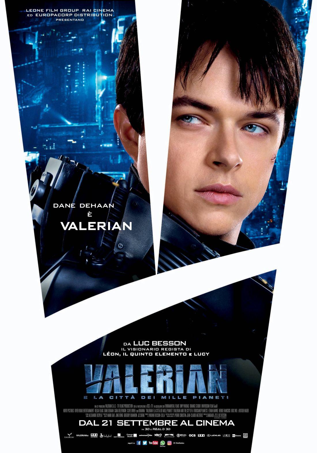 Valerian e la città dei mille pianeti: il character poster di Dane DeHaan