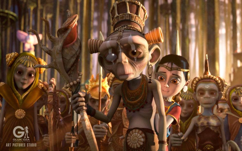 Savva: una scena del film animato
