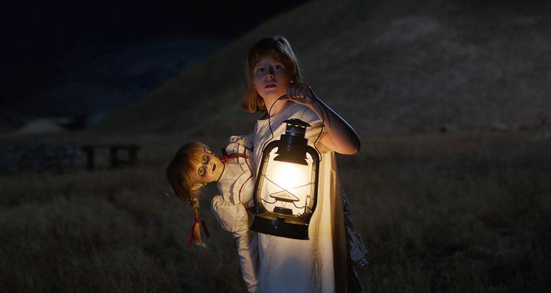 Annabelle 2: Creation, Lulu Wilson in una scena del film
