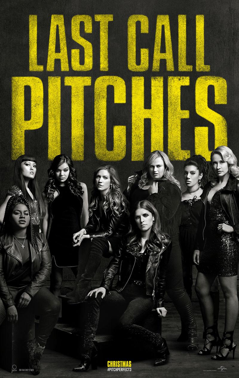 Pitch Perfect 3: il primo poster ufficiale