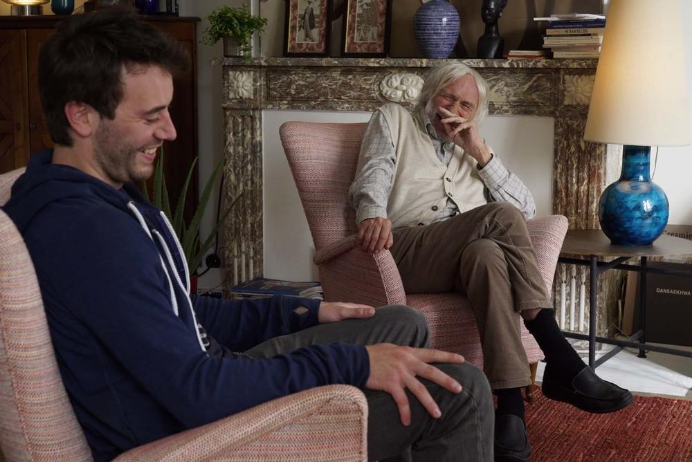 Un profilo per due: Pierre Richard e Yaniss Lespert in una scena del film