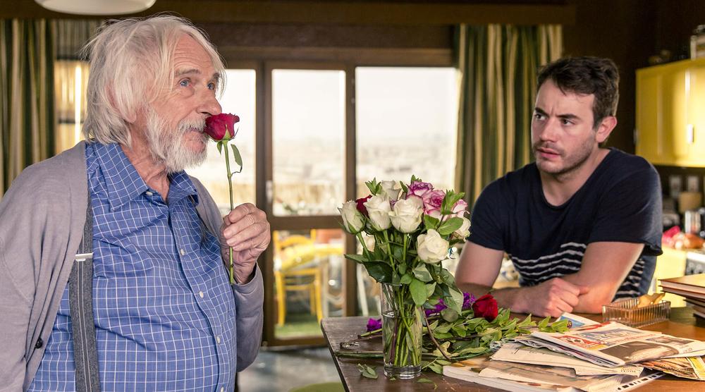 Un profilo per due: Pierre Richard e Yaniss Lespert in un momento del film