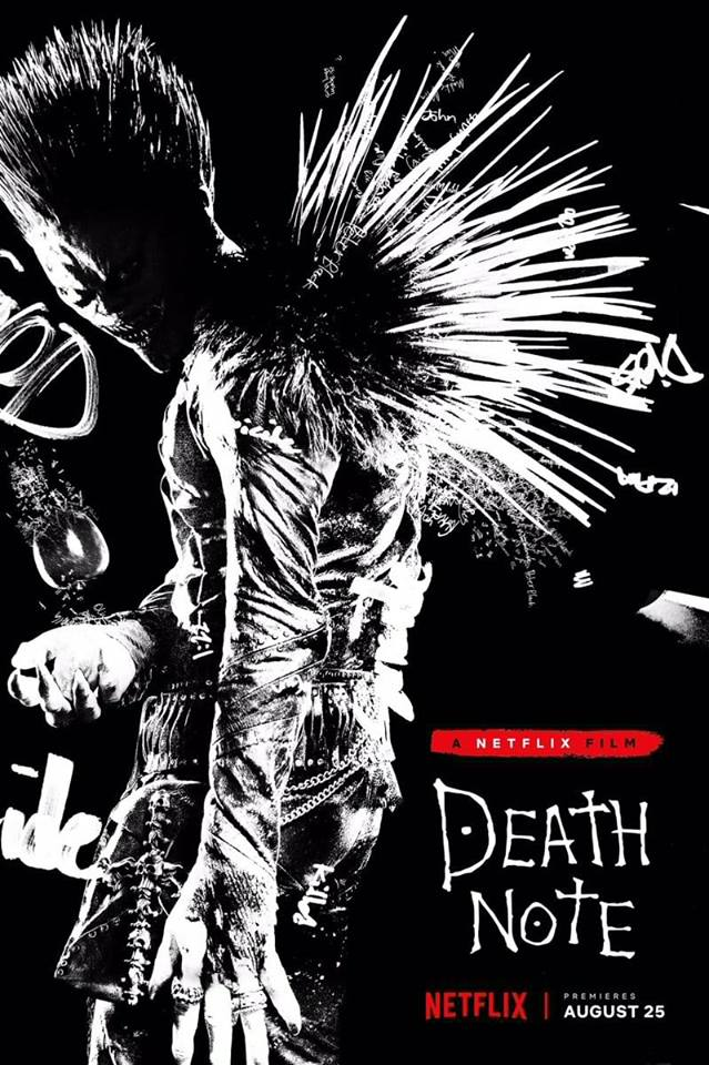 Death Note: un poster del film Netflix