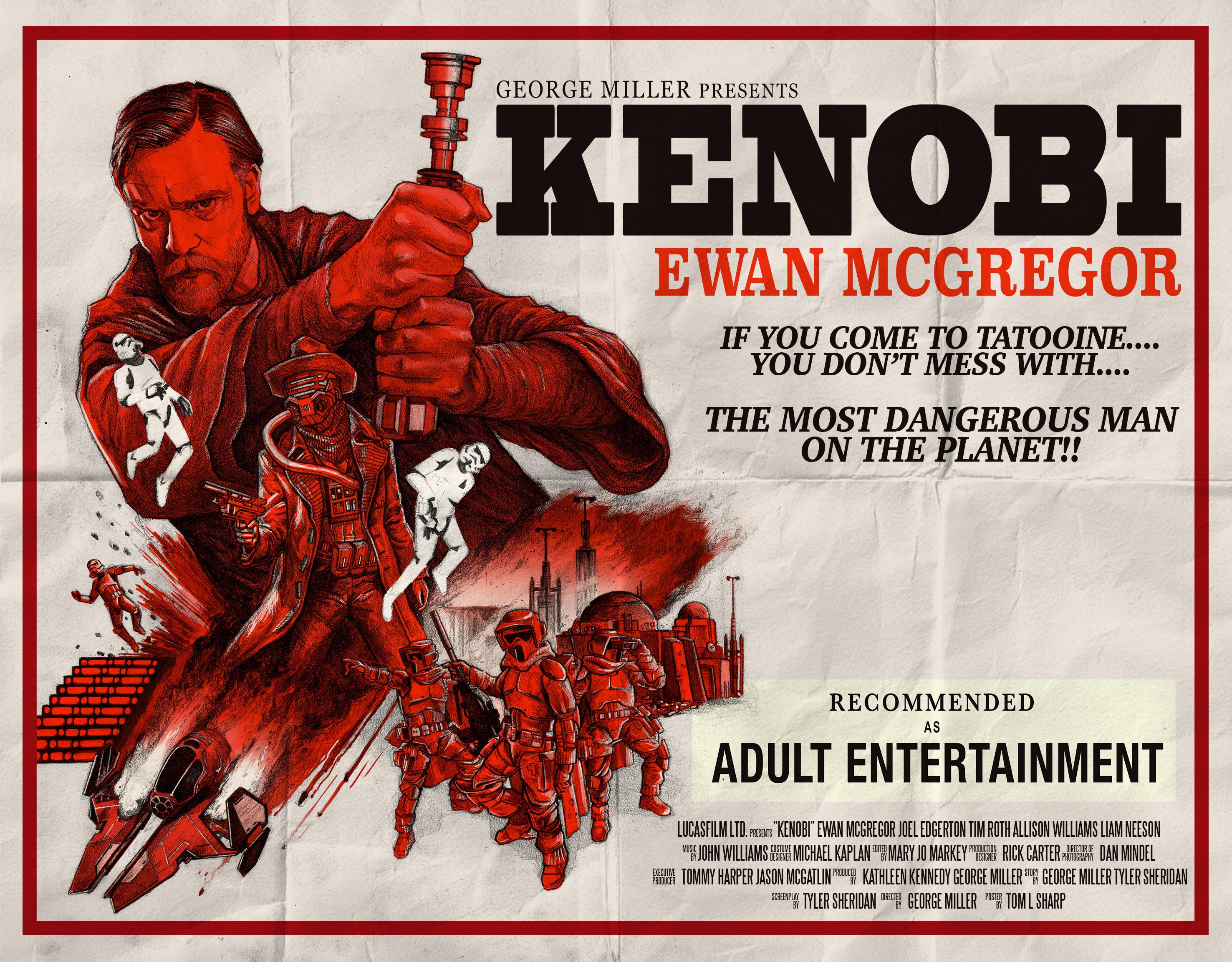 Star Wars: un fan poster dello spinoff dedicato a Obi Wan Kenobi