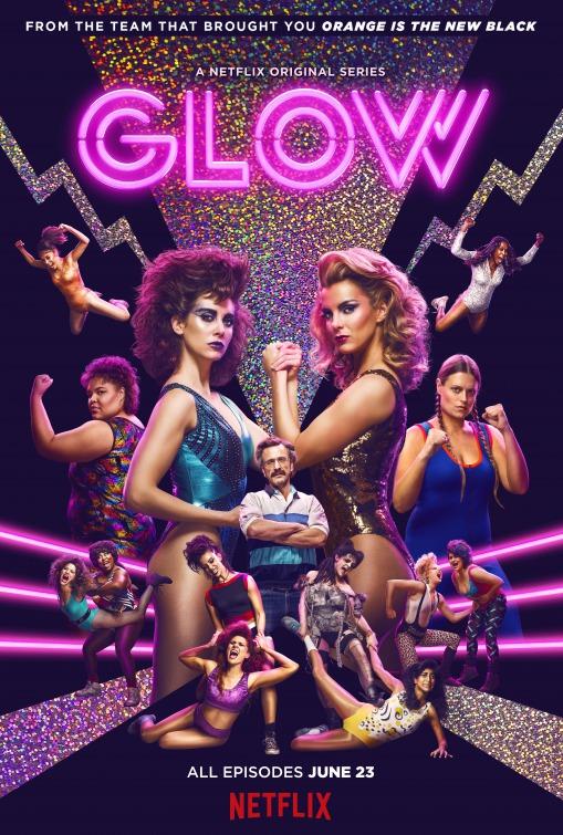 GLOW: una locandina per la prima stagione