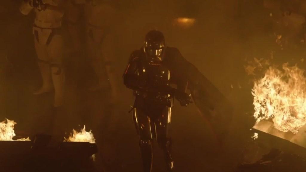 Star Wars: Gli ultimi Jedi, Gwendoline Christie interpreta Captain Phasma
