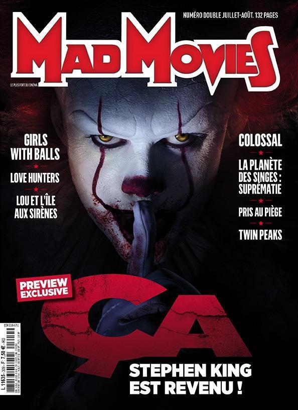 IT: Pennywise sulla copertina di MadMovies