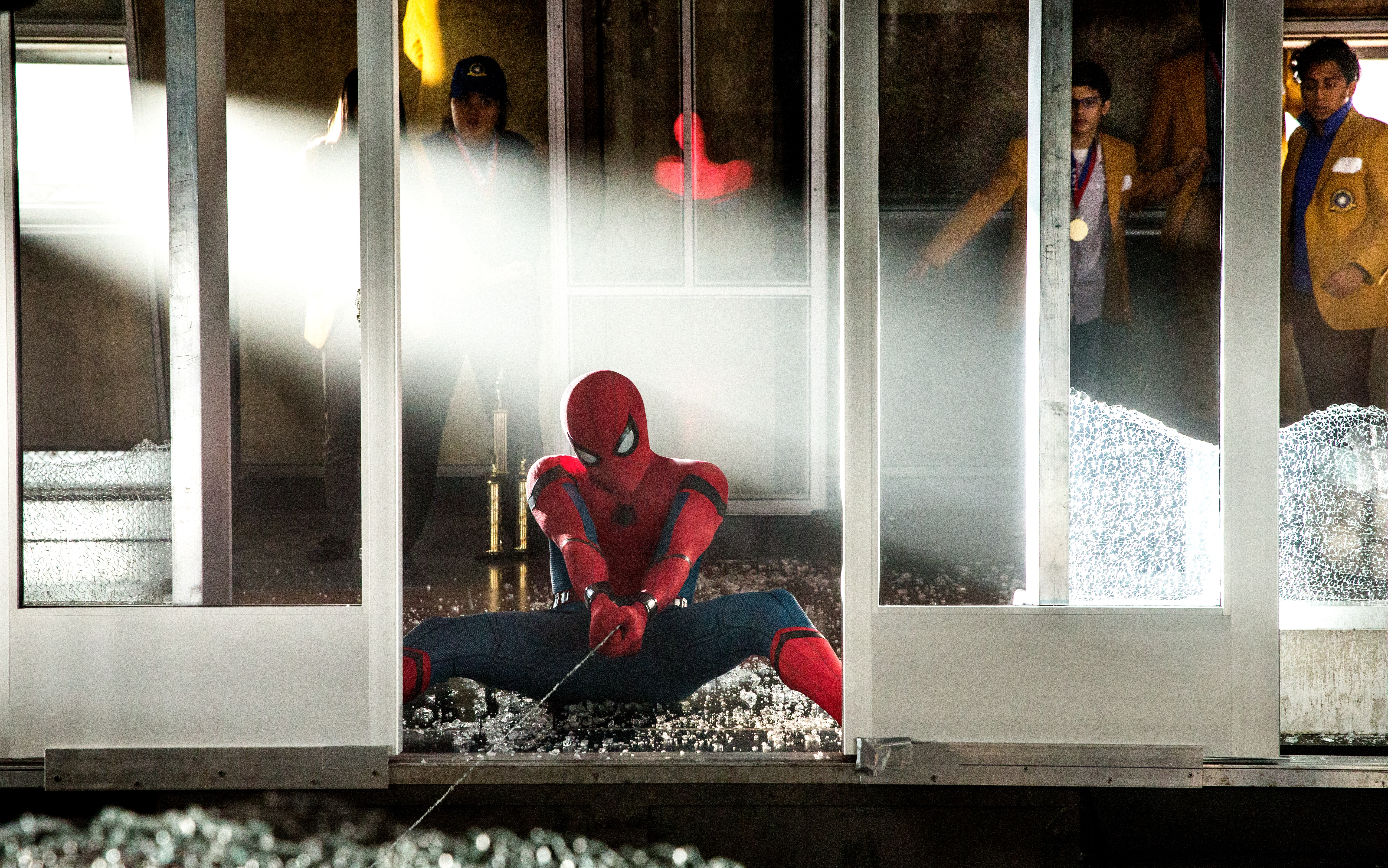 Spider-Man: Homecoming: Il salvataggio del Washington Memorial