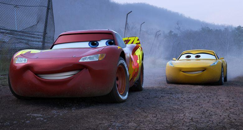 Cars 3: un'immagine del film animato
