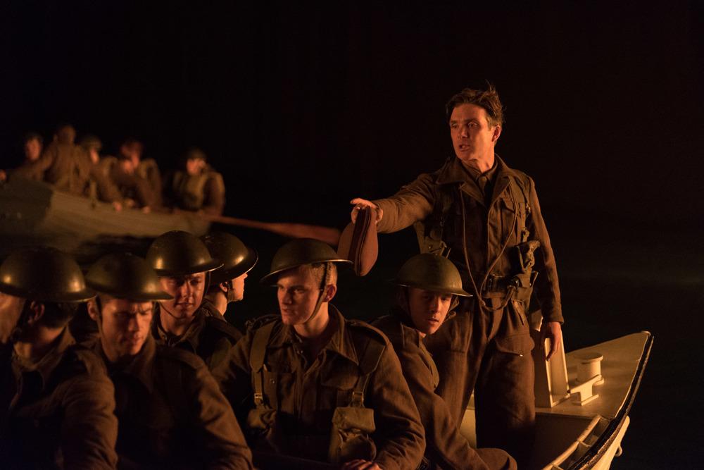 Dunkirk: Cillian Murphy in una scena del film