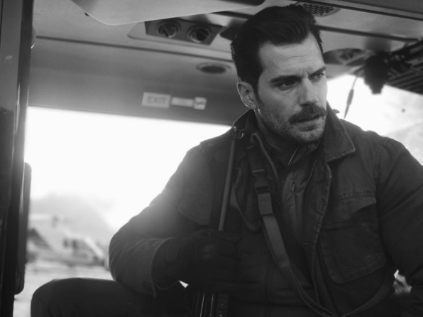 Mission: Impossible 6: Henry Cavill sul set del film
