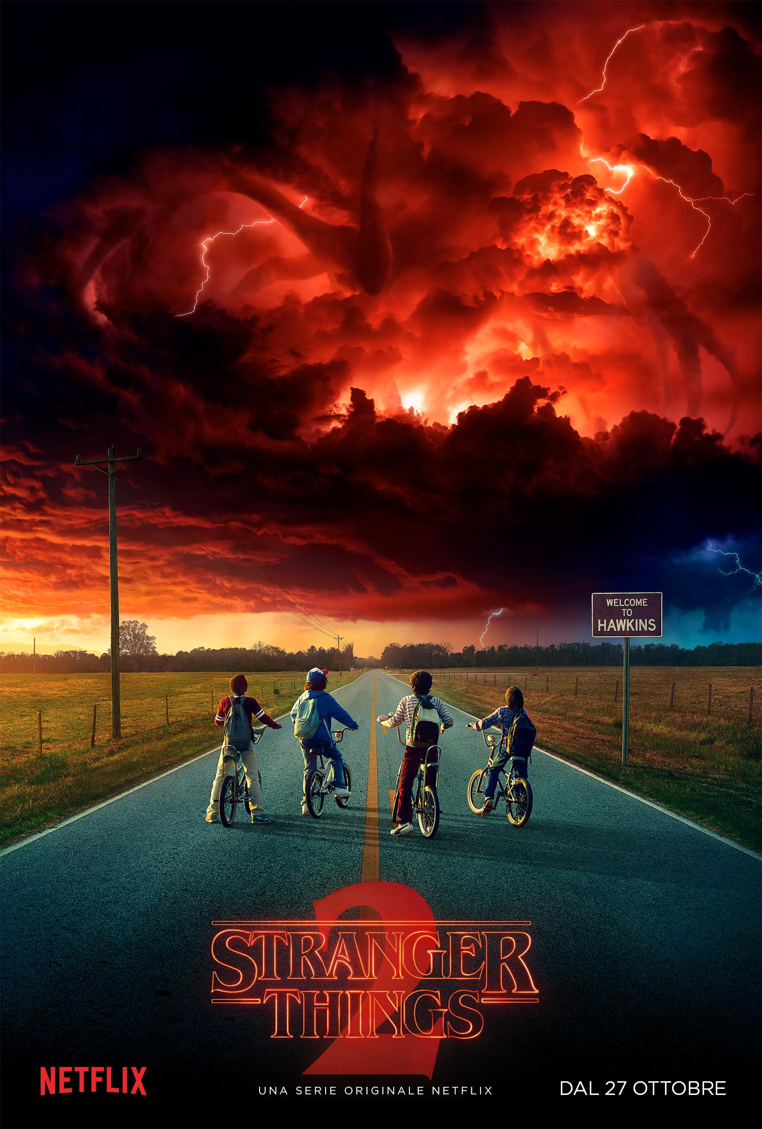 Stranger Things 2: il poster della seconda stagione della serie