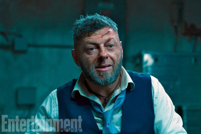 Black Panther: Andy Serkis in una foto del film
