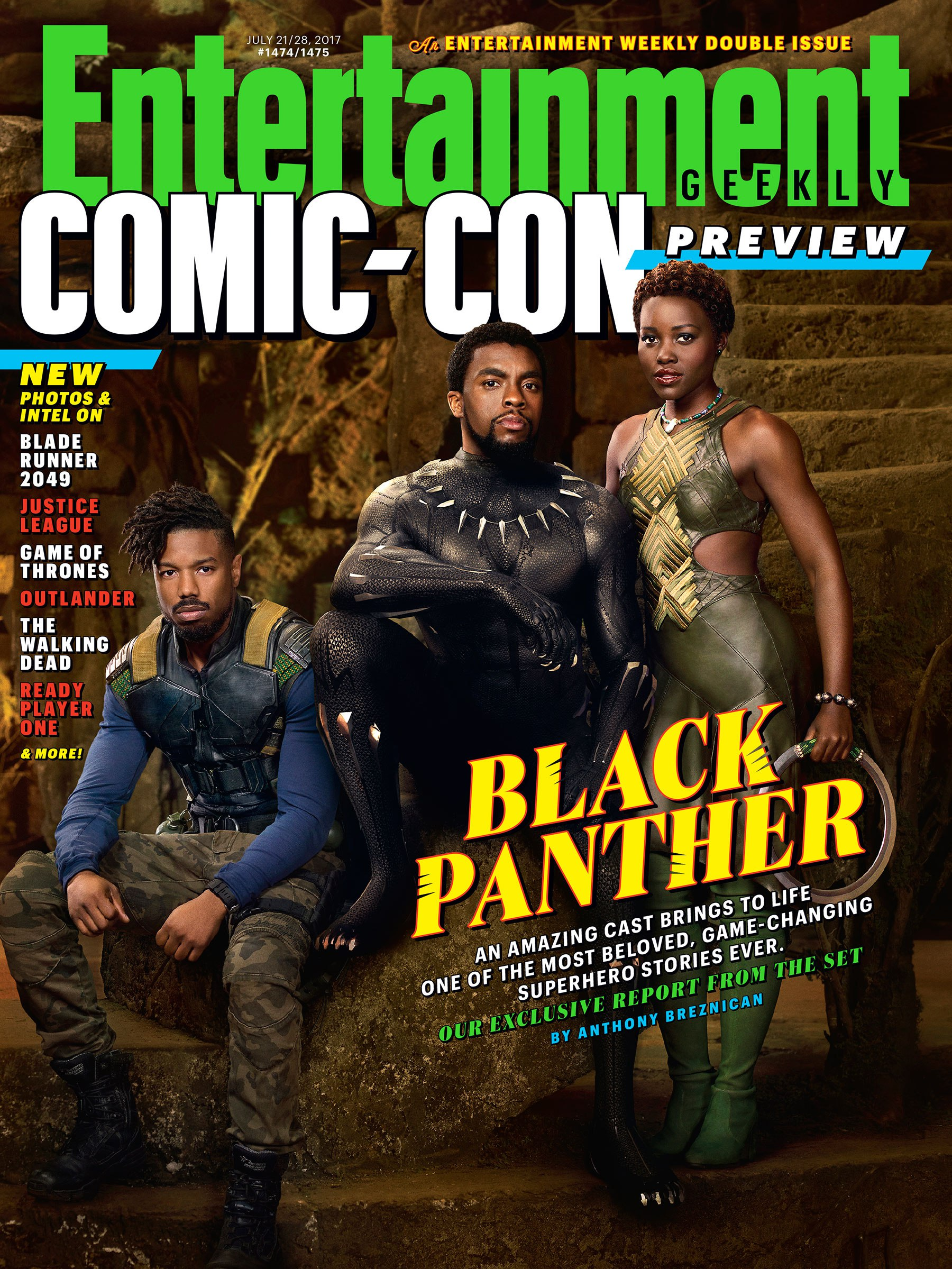 Black Panther: la copertina di Entertainment Weekly