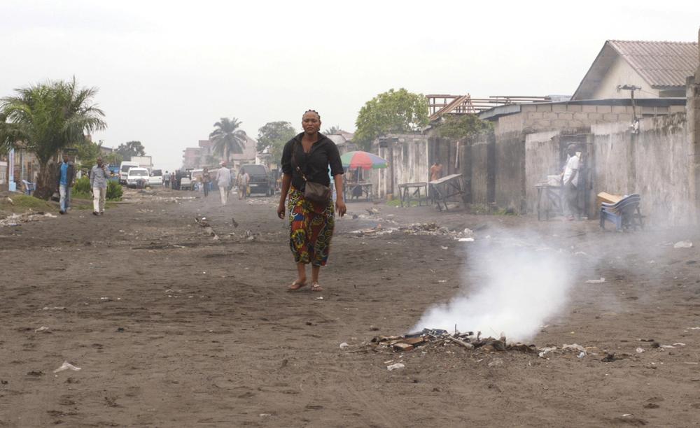 Félicité: Véro Tshanda Beya Mputu in una scena del film