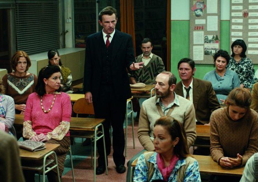 The Teacher: una scena del film
