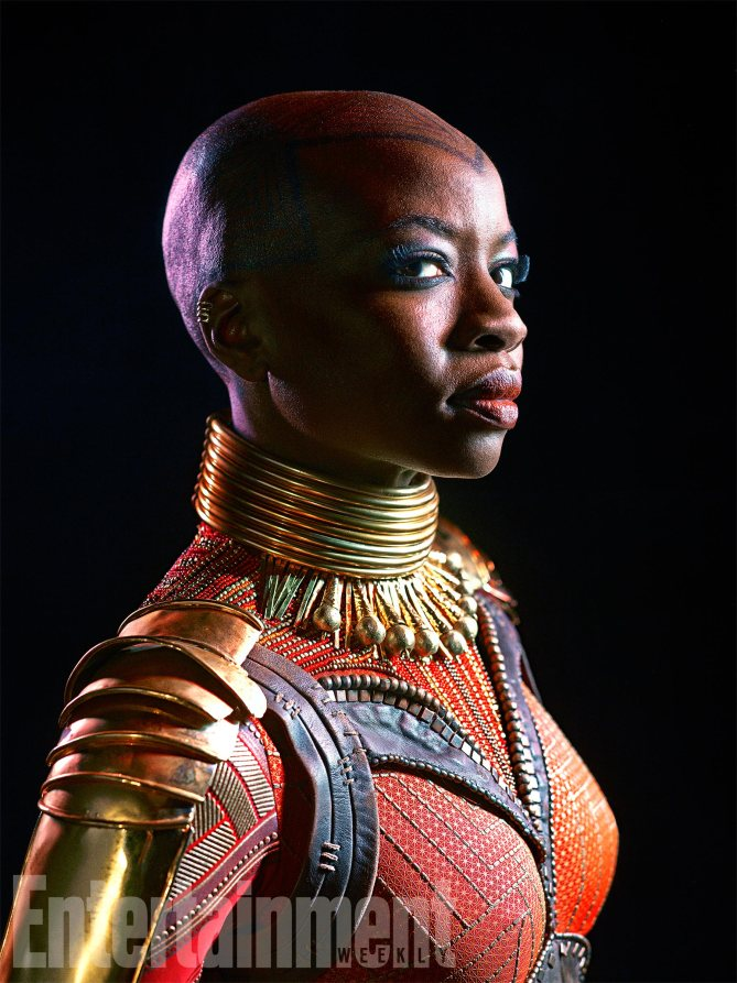 Black Panther: Danai Gurira interpreta Okoye