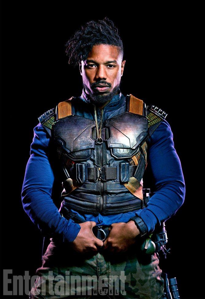 Black Panther: Micahel B. Jordan è Erik Killmonger