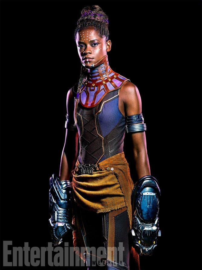 Black Panther: Letitia Wright è Shuri