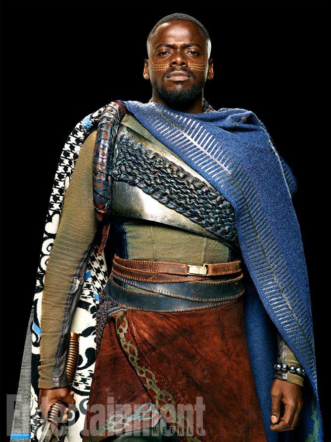Black Panther: Daniel Kaluuya è W'Kabi