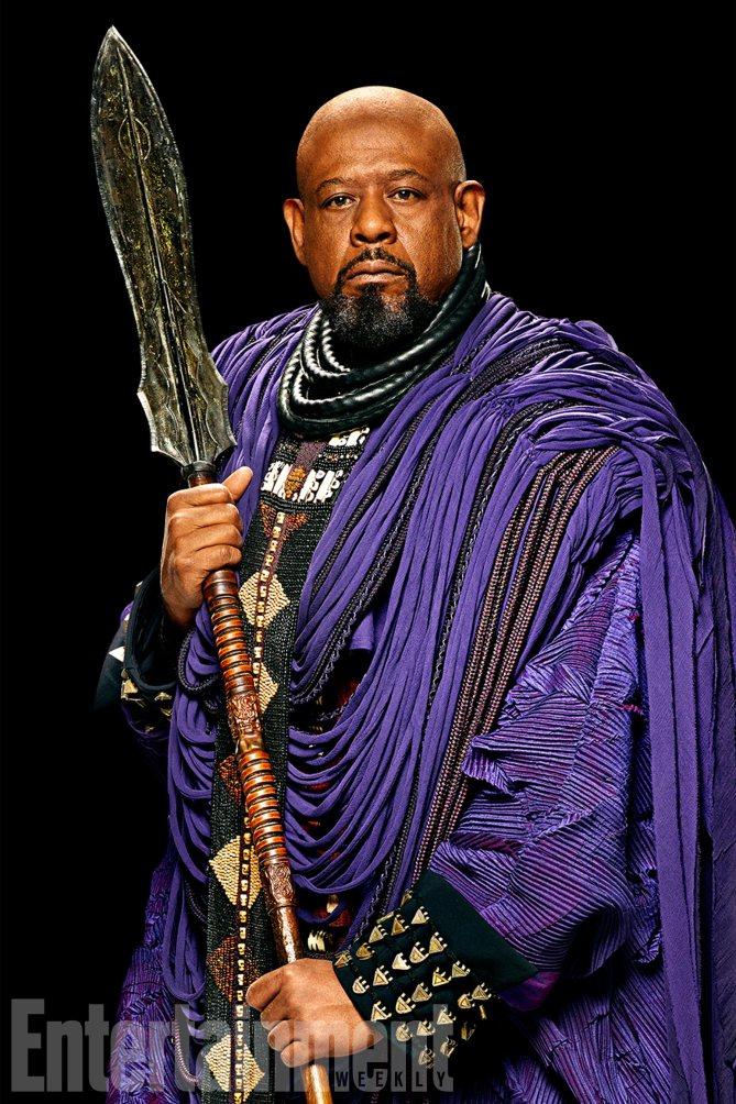 Black Panther: Forest Whitaker è Zuri